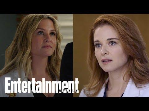 Grey's Anatomy: Jessica Capshaw, Sarah Drew To Exit After Season   Flash  Entertainment Weekly