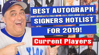 Best Baseball Autograph TTM Signers For 2019
