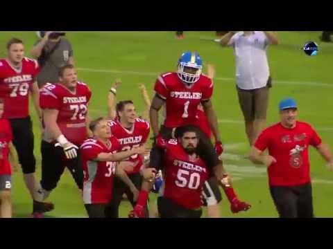 Game winning kick return in Hungary HFL 2016 Championship