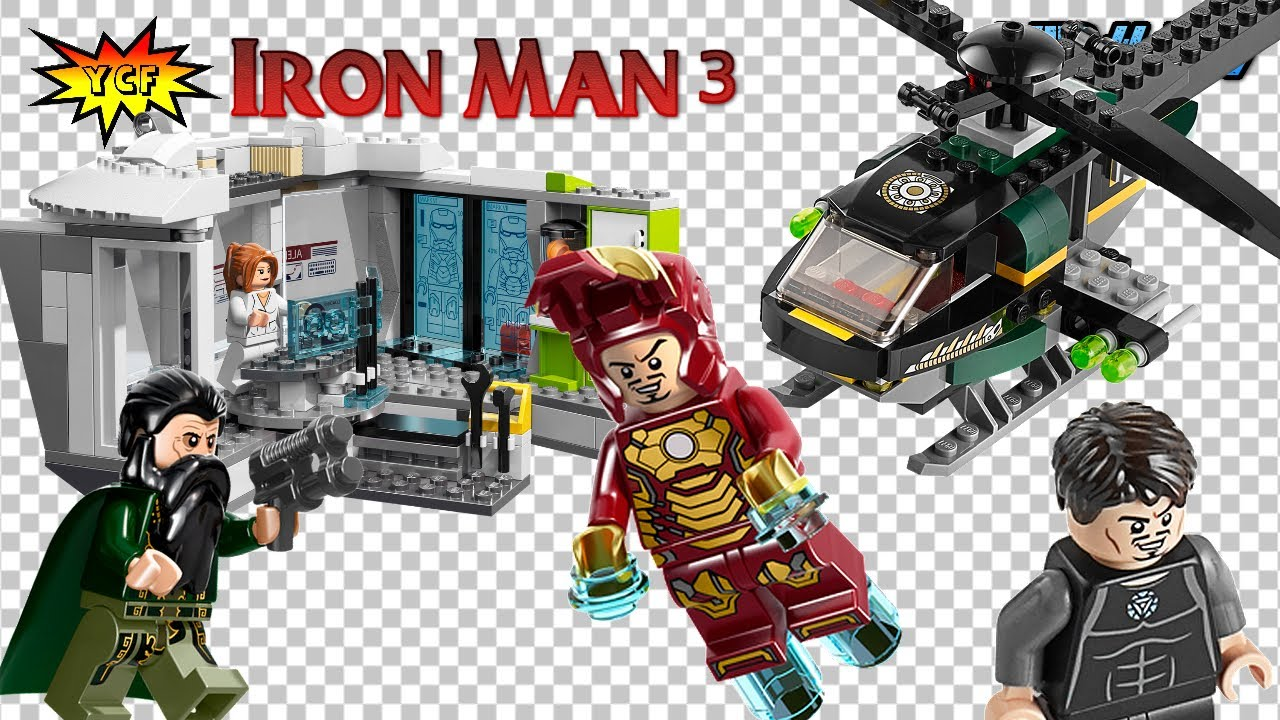 Lego Iron Man 3 Malibu Mansion Attack Review 76007 Super