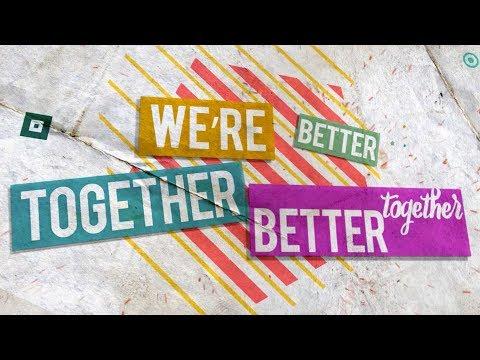 Better Together - Lyric Video   Anthem Lights