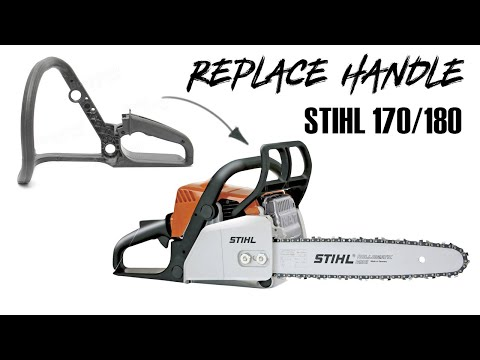 STIHL 170/180 HANDLE REPLACEMENT