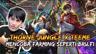 COMBO TEEME x THORNE JUNGLE AUTO JADI PESUGIHAN KAYA ( F1 FARMING 1)