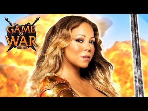 "MMO Game of War - ""HERO"" ft. Mariah Carey"