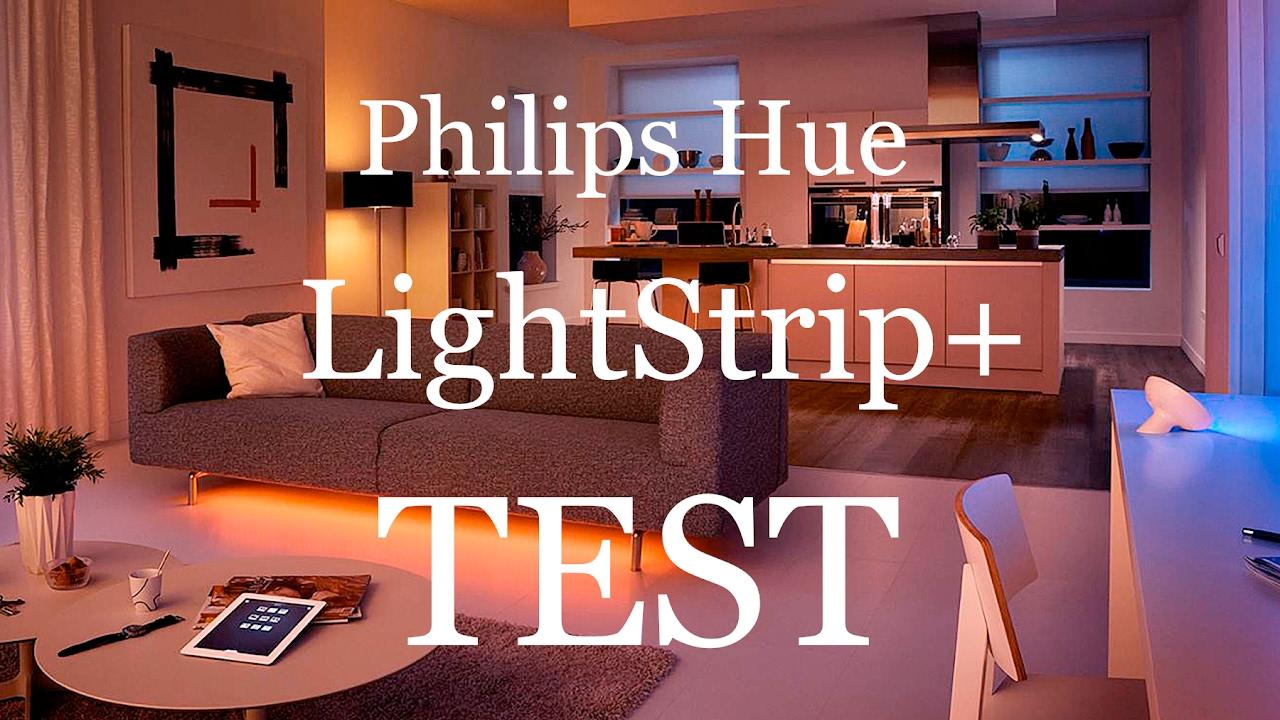 philips hue lightstrip im test youtube. Black Bedroom Furniture Sets. Home Design Ideas