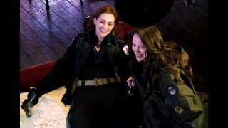 Wynonna Earp ✪ Whiskey Lullaby [Behind The Scenes S2, Ep6]