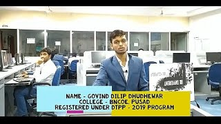 Govind Dhudhewar's Live Review of DTPP program...