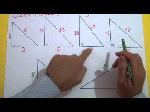 Dik Üçgen 1 - Pisagor Şenol Hoca Matematik