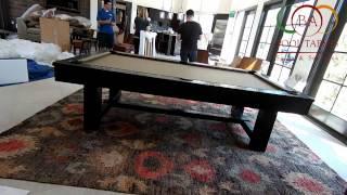 Rustica Pool Table Black