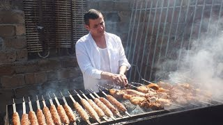Армянский шашлык от Севака! Armenian kebab from Sevak!