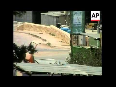 Israeli army says it detonates explosives belt