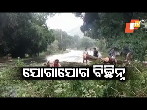 Flood situaion continues to remain grim in Kandhamal due to heavy rain triggered by Cyclone Titli