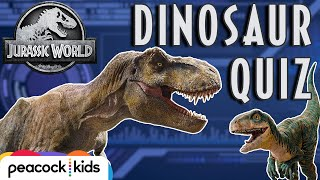 [QUIZ] Can You Guess the Dinosaur? Part 1 | JURASSIC WORLD