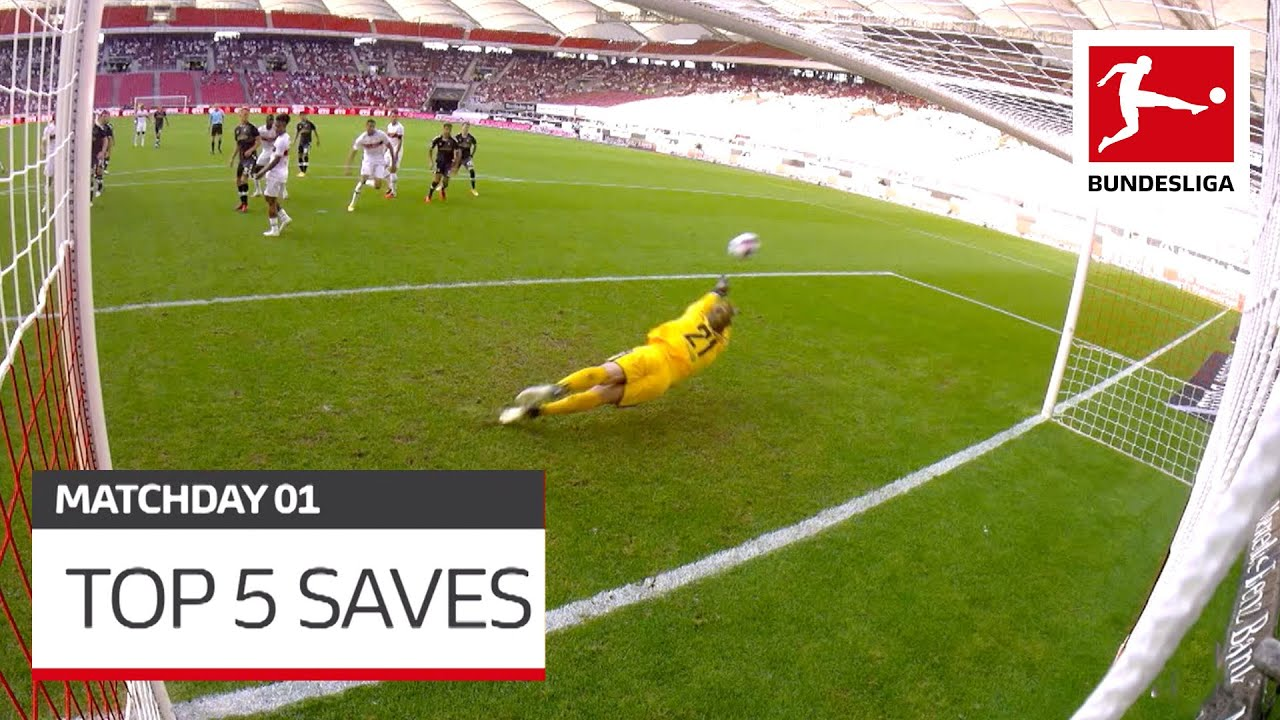 Top 5 Saves – Bürki, Hradecky & Co.