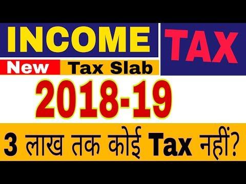 Income Tax slab 2018-19 और कितनी इनकम टैक्स फ्री है?||How to calculate income tax/rebate income 2019