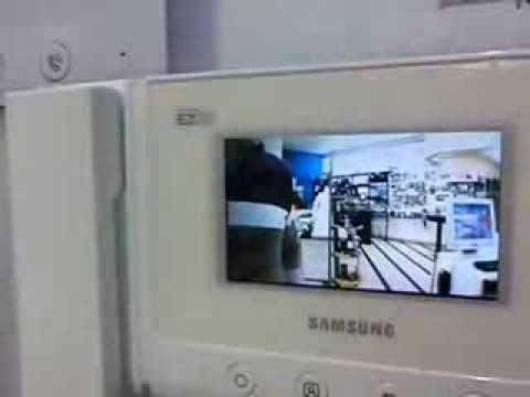 Samsung Sht 3305 Video Intercom Youtube
