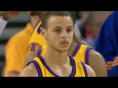 Rookie Stephen Curry 1st Career Triple Double 2010.02.10 vs Clippers - SiCK 36 Pts, 13 Ast, 10 Rebs!