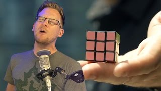 Solve a Rubik's Cube INSTANTLY... With Magic!