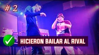 2 flows que hicieron bailar al rival en batallas de rap