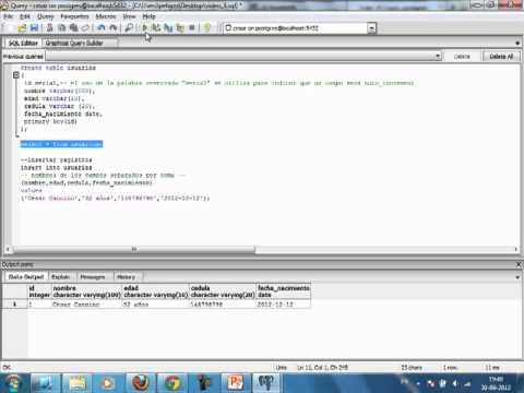 VideoTutorial 3 del Curso de PHP y PostGreSQL