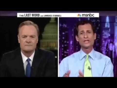 Lawrence O'Donnell and Anthony Weiner