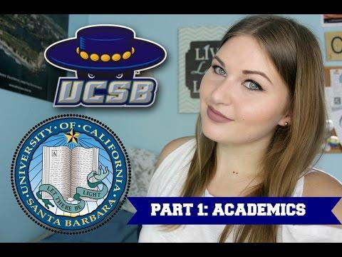 UCSB FRESHMAN ADVICE PART 1: ACADEMICS!
