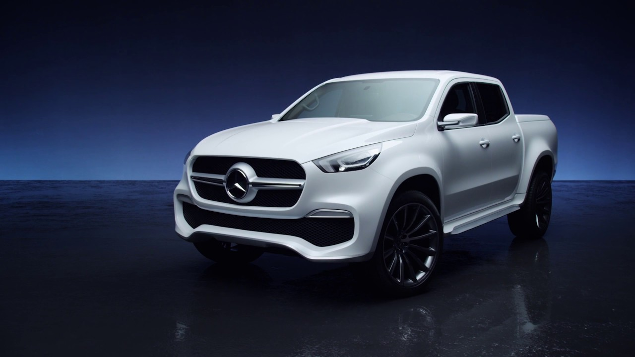 pick up mercedes x class concept 2016 youtube. Black Bedroom Furniture Sets. Home Design Ideas