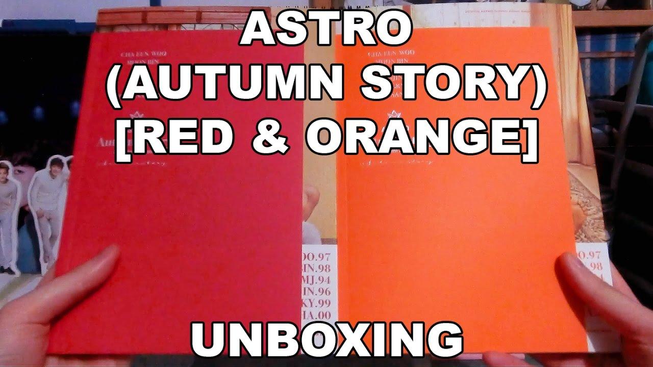 UNBOXING | ASTRO - Autumn Story (Red & Orange Versions)
