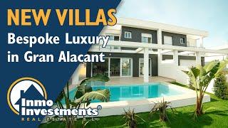 New build concept villas at Gran Alacant Villa Linda