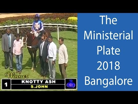 Knotty Ash with S John up wins The Ministerial Plate 2018