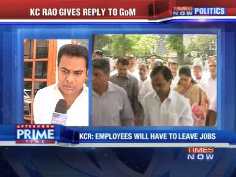'No place for Seemandhra employees'  K Chandrasekhar Rao