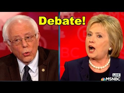 Bernie Sanders v Hillary Clinton, 1-on-1 Debate! LV MSNBC Democratic Debate LIVE Clip Roundup!