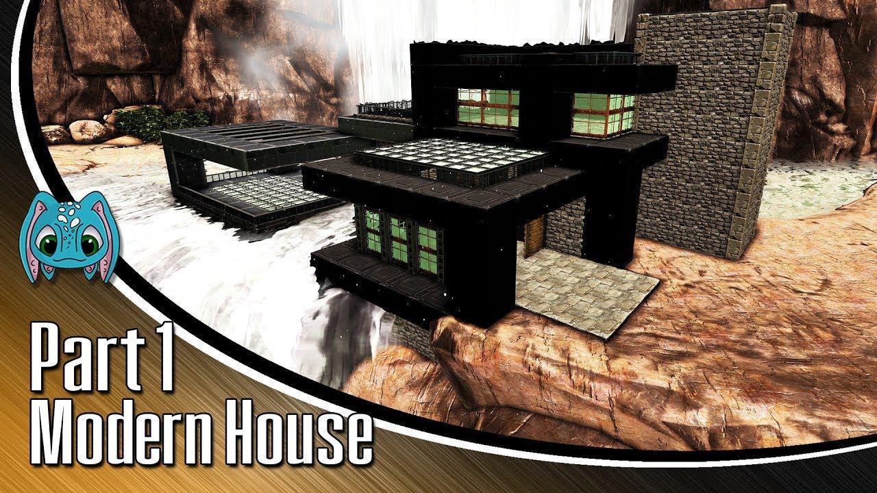 Ark building w fizz modern house part 1