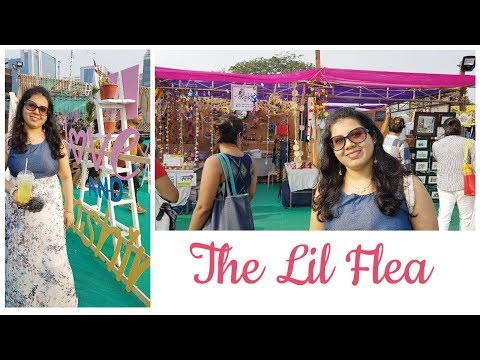 Shopping Food Music And Fun   The Lil Flea   Maitreyee's Passion