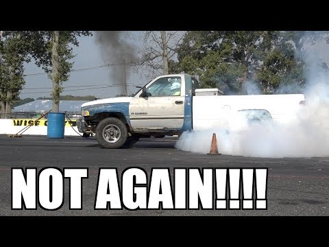 12 VALVE CUMMINS SCRAP TRUCK BLOWS ENGINE #2!!!!