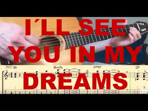 I´ ll see you in my dreams (Django Reinhardt) Transcription by ...