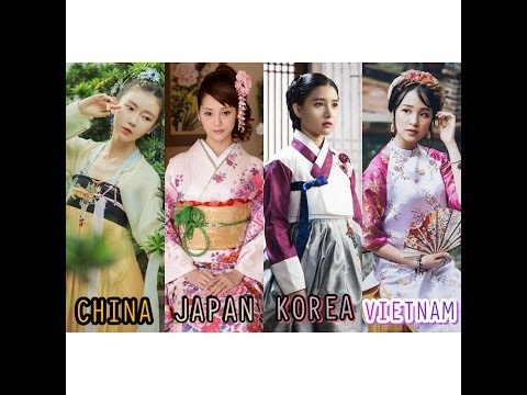 [Sinosphere] China, Japan, Korea, Vietnam Traditional Dress - Beauty Of Asia (Part 2)