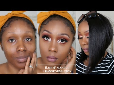 Watch Me Transform: Basic to Baddie | ft. Freetress Kiss Blossom - Bob Wig | HairToBeauty.com