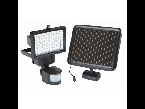 Harbor Freight Led Light Converted To Usb For Solar