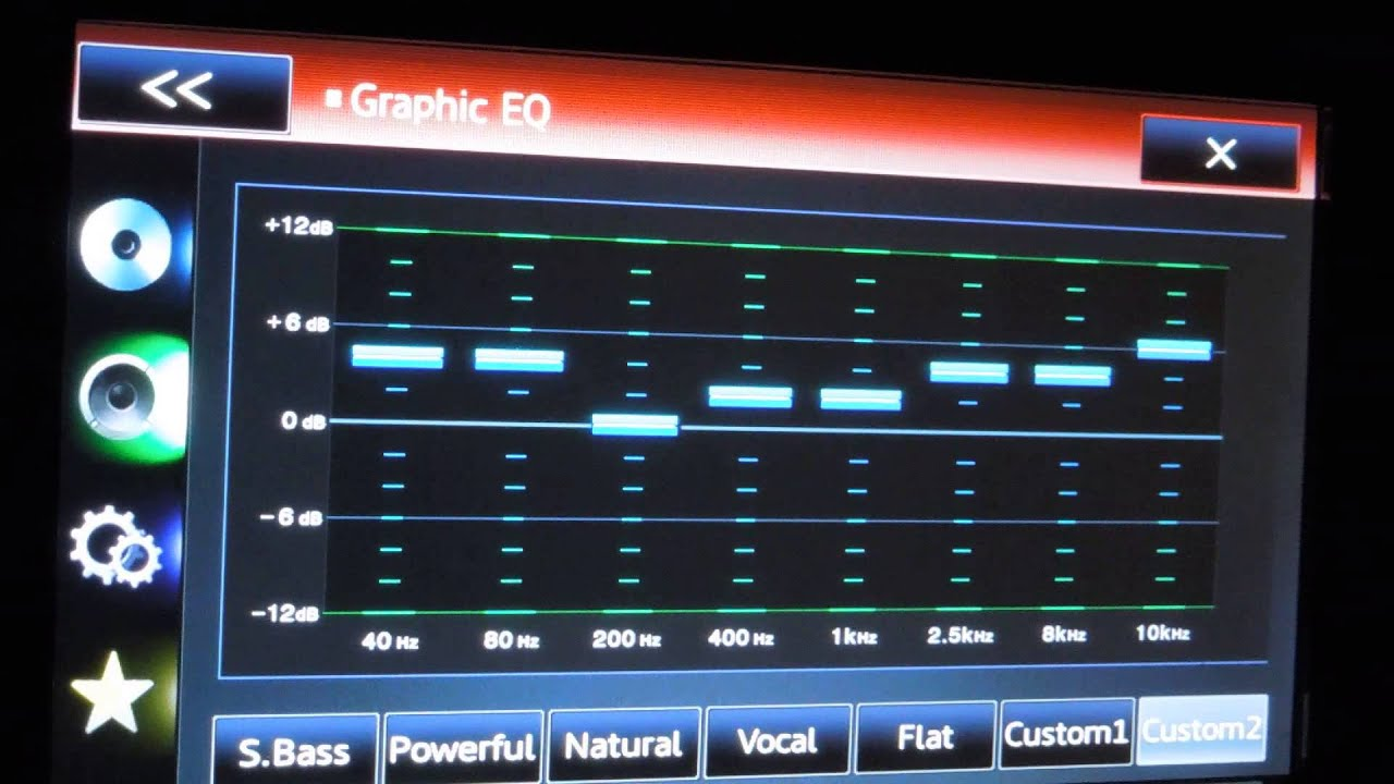 how to tune the audio settings sound and equilzer on your car stereo deck headunit [ 1280 x 720 Pixel ]