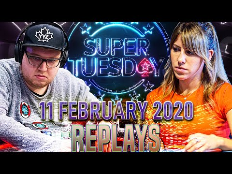 Super Tuesday Tonkaaaa   Krissyb24   Ssick_OnE Poker Replays 2020