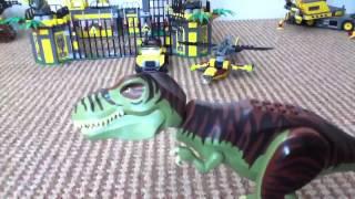 """Lego """"Dino Defense HQ"""" 5887 Set Review"""