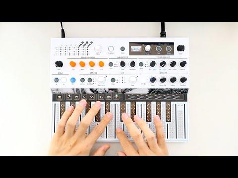 Kraftwerk - Computer Love (Arturia MicroFreak) Synthesizer Cover