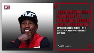 Manny Pacquiao vs Floyd Mayweather 2 after 'Big Event' for Mayweather in Japan