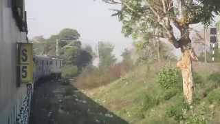 [IRFCA] 12137 Punjab Mail crosses Narmada river after Hoshangabad !!