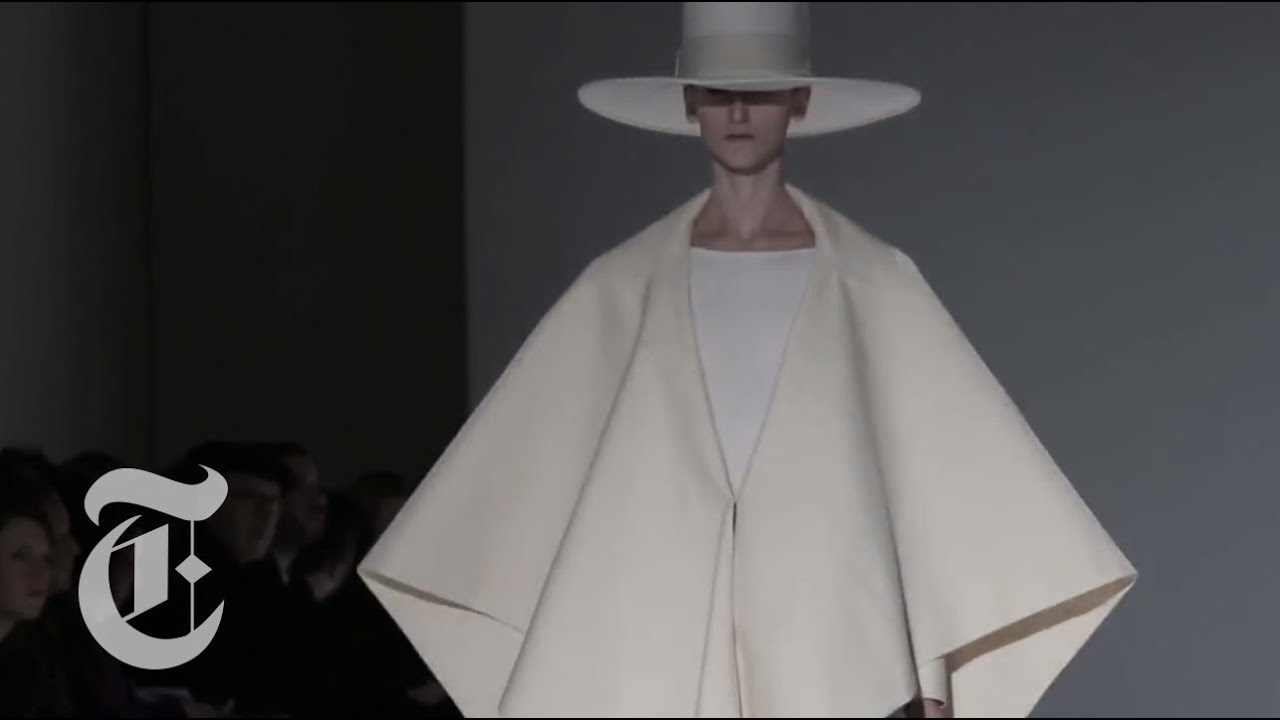 Paris Fashion Week 2014 Elements Shape The New York Times Youtube