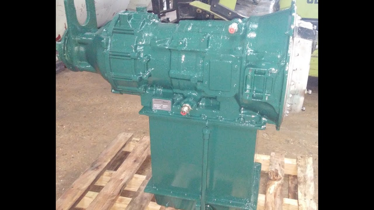 Allison Transmission Model MT600 MT643 MT654 Dyno Test
