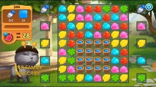 Lets play Meow match level 344 HARD LEVEL HD 1080P