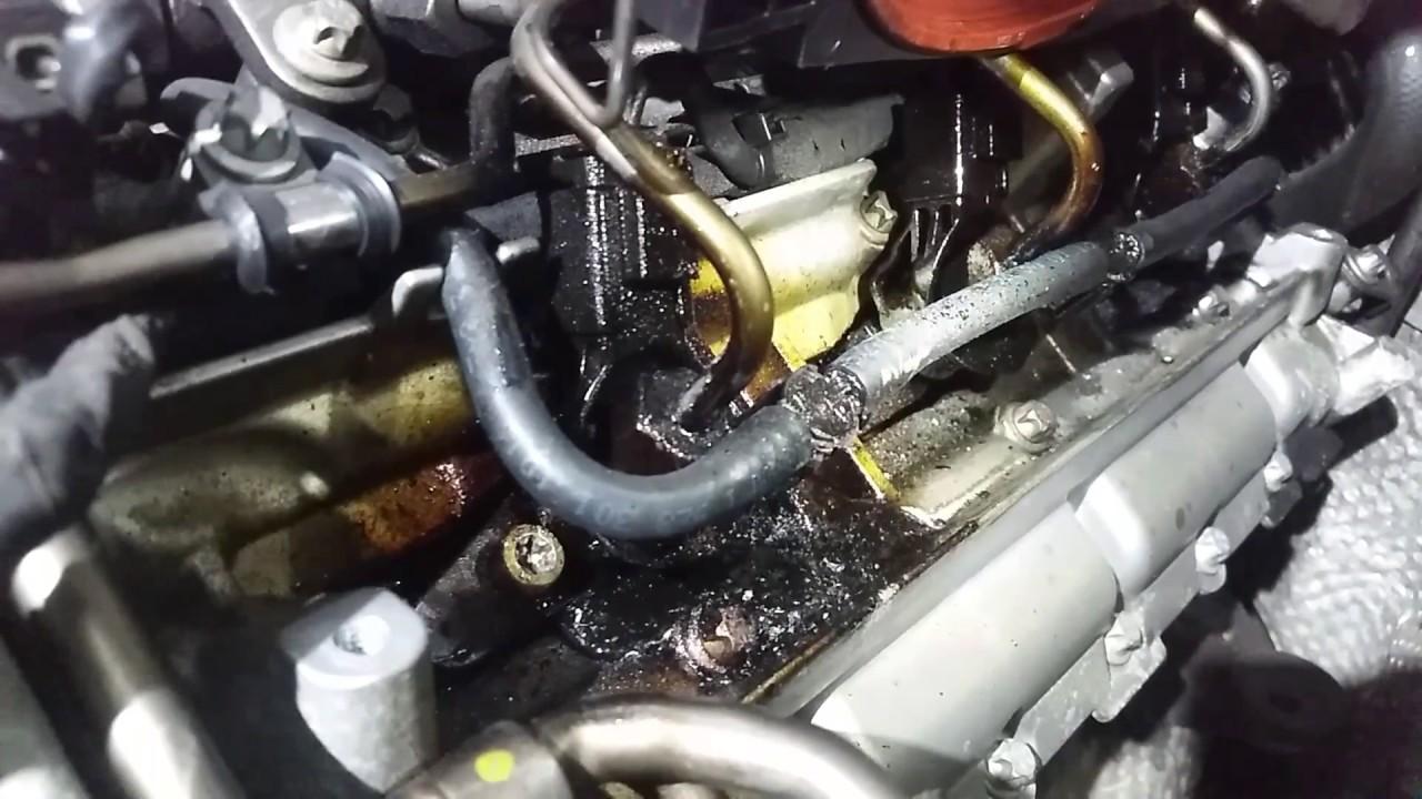 Mercedes Cdi Om 642 Injektor Undicht Ausbau Removal