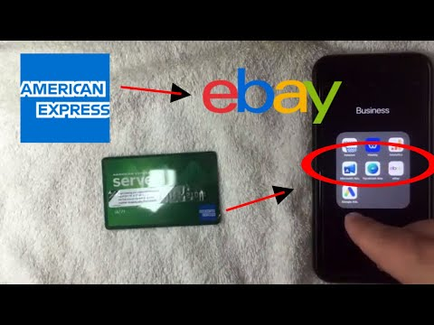 ✅  Can You Add American Express Serve Prepaid To EBay 🔴